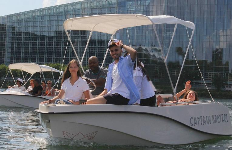 Faire une virée en bateau à Strasbourg avec Captain Bretzel !