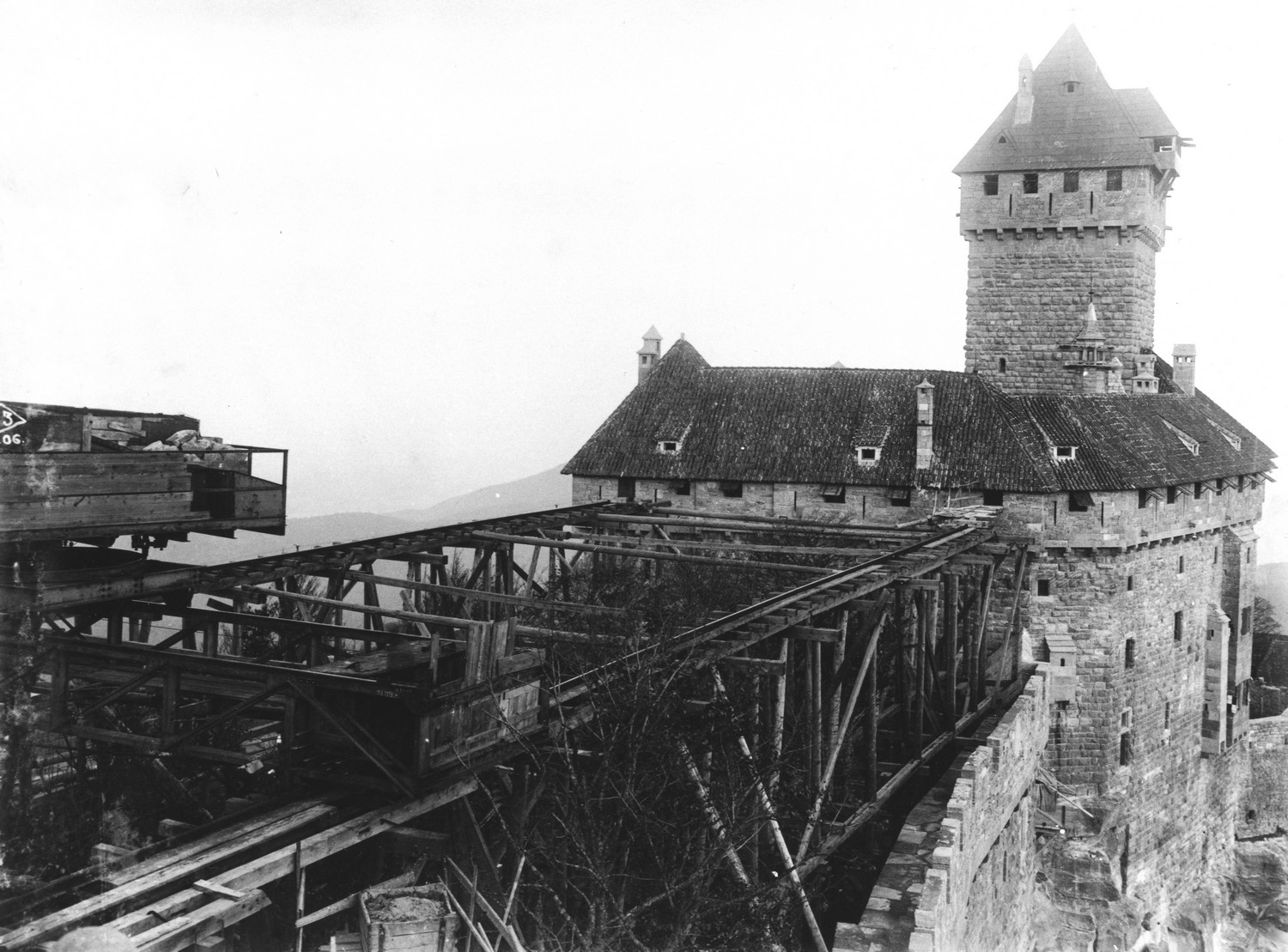 Renovation Haut Koenigsbourg