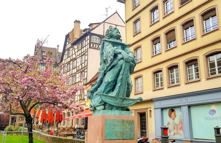 La statue du chevalier Liebenzeller