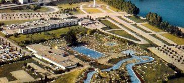 Piscine Motel Rhin Strasbourg disparu ancienne