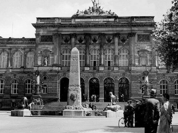 Strasbourg Disparu #9 : Le monument Pasteur de l'Université détruit par les nazis