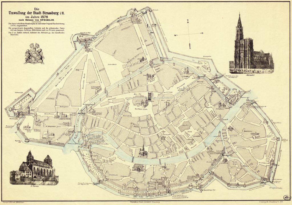 Fortifications de Strasbourg en 1576