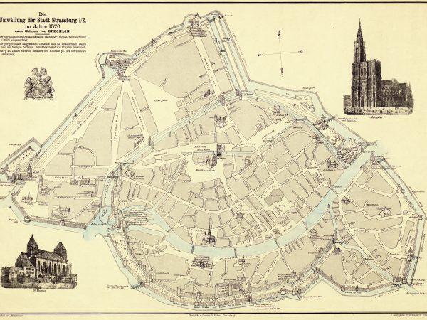 L'évolution des fortifications et remparts de Strasbourg