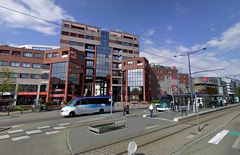 Les arrêts de tram strasbourgeois #4 : Futura Glacière
