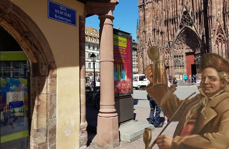 Le Büchmesser, le pilier strasbourgeois pour mesurer son ventre