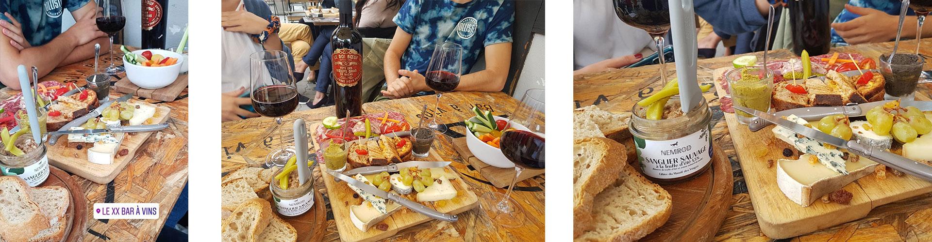 le XX bar à vins