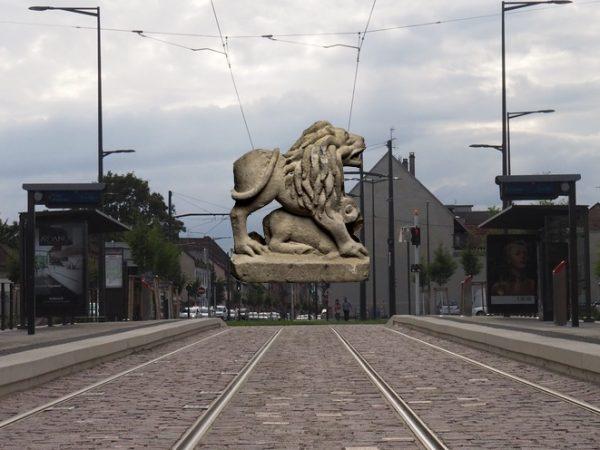 Les arrêts de tram strasbourgeois #6 : Parc des Romains